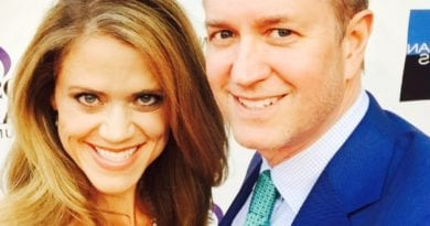 Tyler Tysdal with wife Natalie Tysdal from KDVR Denver