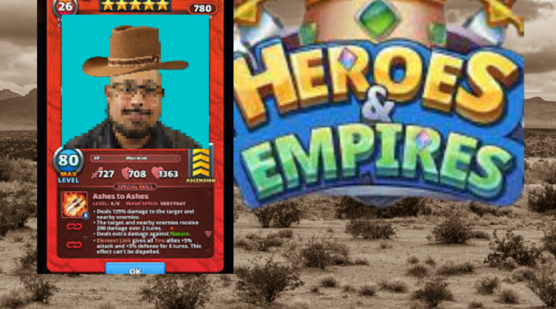 heroes & empires play to earn nft game